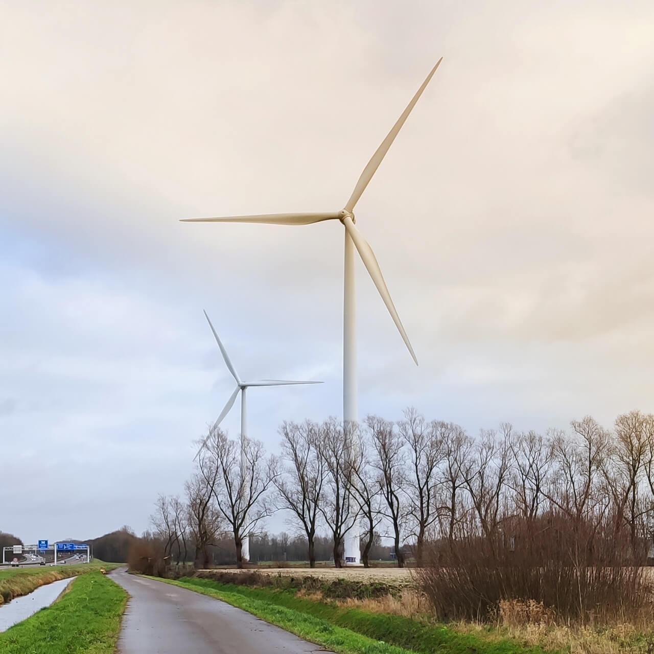 Windmolens voor duurzame elektriciteit
