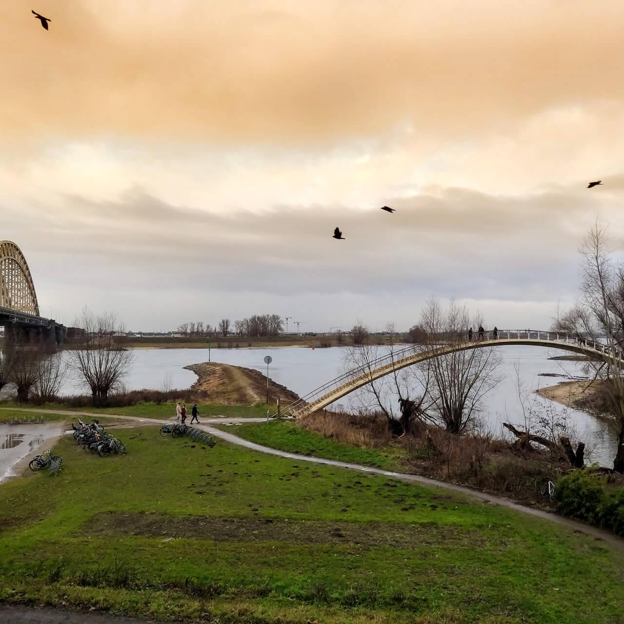 Brug De Ooijpoort te Nijmegen